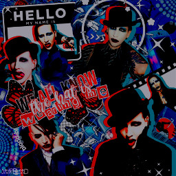 marilynmanson manson art complex complexedit blue darkaesthetic red aesthetic film movie tv radio music punk poppunk rock poprock alternative grunge edgy dark vignette lyrics complextext