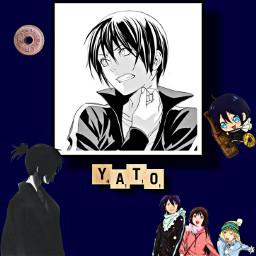 yato noragami noragamiaragoto freetoedit