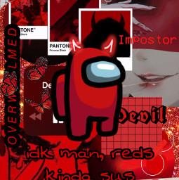 halloween wallpaper wallpapers halloweenwallpaper halloweenwallpapers red redaesthetic impostor imposter redimposter redimpostor amongus redamongus redplayer aesthetic aestheticedit devil