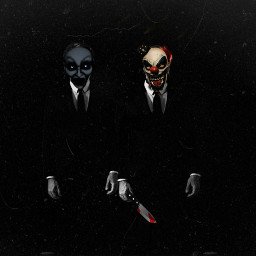 darkart evil scary darkness clown holloween2020 freetoedit