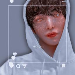 seonghwa ateez kpop instagram manip manipulation kpopmanipulation kpopmanips edit kpopedit mars selfie selca