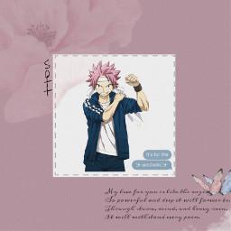 natsu flower rose freetoedit