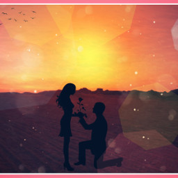 marriage marryme sunset desertsunset freetoedit