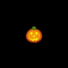 halloween pumpkin orange yellow green spooky emoji iphone iphoneemoji iphonesticker freetoedit