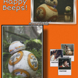 bb8 poedameron poe starwars orange droid droids do d-o bb-8 resistance rebellion freetoedit d bb