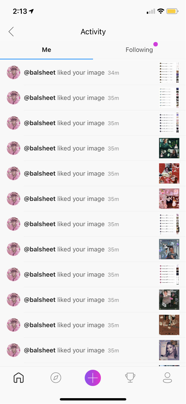 Thank you for the spam likes @balsheet #thankyou