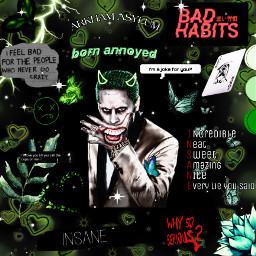 joker mistahj dc gotham arkhamasylum insane lovehim green freetoedit