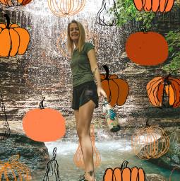 pumpkin texas fall cute freetoedit