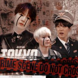 min yoongi police bts dark🍂 freetoedit dark