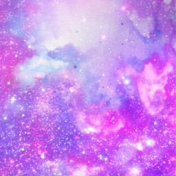 freetoedit glitter sparkle galaxy sky stars shimmer pink purple pastel cosmos glow clouds colorful art background overlay texture