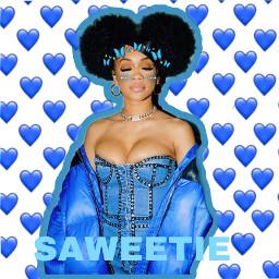 saweetie blue bluehearts butterflies puffballs blueblush blush freetoedit