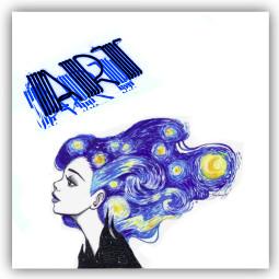 art face vangoghstyle ecneonsign neonsign freetoedit