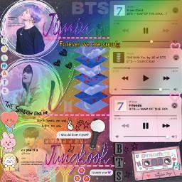 rainbow spotify songs quotes colorful armybomb jungkook taehyung jimin chimmy tata cooky dynamite bt21 text neonpink hearts extra flowers bangtanboys bangtan bangtansonyeondan bts btsarmy freetoedit
