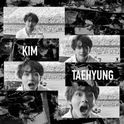 freetoedit kimtaehyung taehyung tae bts taehyungedit kimtaehyungedit btsedit edit concert black white