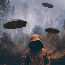 surreal umbrella madewithpicsart heypicsart ircundertheumbrella freetoedit