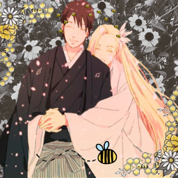 inoyamanaka saiyamanaka saieino saiino flores abelha loiro louro castanho peleclara florrosa girassol bee abelas bees beautiful arte desafio linda naruto japan anime manga challenge roupa srcbethequeenbee bethequeenbee freetoedit