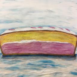 cake painting paint paintings cakes angelcake angelcakes cakeart acrylicpaint acrylicpainting acrylicpaintings art artist myartwork myart