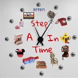 astepintime retro clock time old vintage freetoedit unsplash