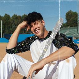 swayhouse tiktok blakegray cute glitter baseball freetoedit
