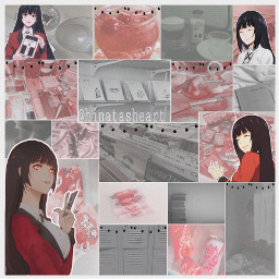 art japan kakegurui anime weeb photo edit wallpaper background aesthetic lights lines borders softcore softcorebackground red gray black aestheticwallpaper aestheticanime animeart animegirl animeedit animephoto aestheticbackground freetoedit