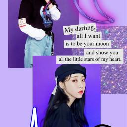 moonbyul byulie purple aesthetic freetoedit