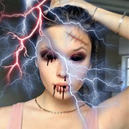 blackeyes blood hurts interesting helloween replay freetoedit