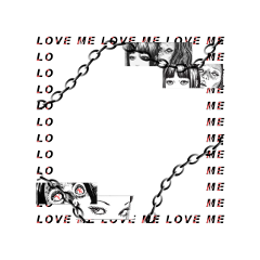frame freetoedit grunge weeb otaku junjiito horror creepy manga anime black girl chain text emo aesthetic goth punk