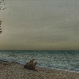 beach wisconsin water blue sky
