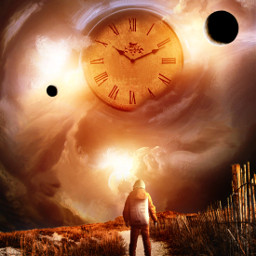 time surreal surrealart fauspre space astronautstickerremix astronaut cloks planet interesting madewithpicsart heypicsart madebyme myedit editbyme makeawesome lovetime freetoedit