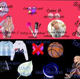 tomboy girlygirl whichoneareyou unicorn dress pinkandpurple sports nature blackandblue freetoedit