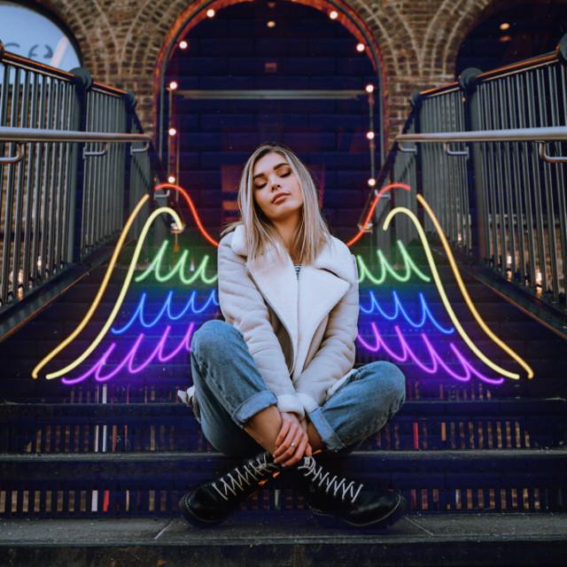 #freetoedit #wings #angel #angelwings #neon #neonwings #neonvibes