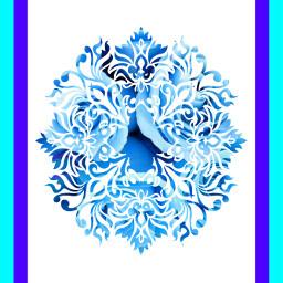 tmblr blue mandala