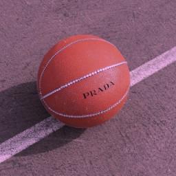 freetoedit wallpapers wallpaper ball basketball prada designer designerbrand sports glam