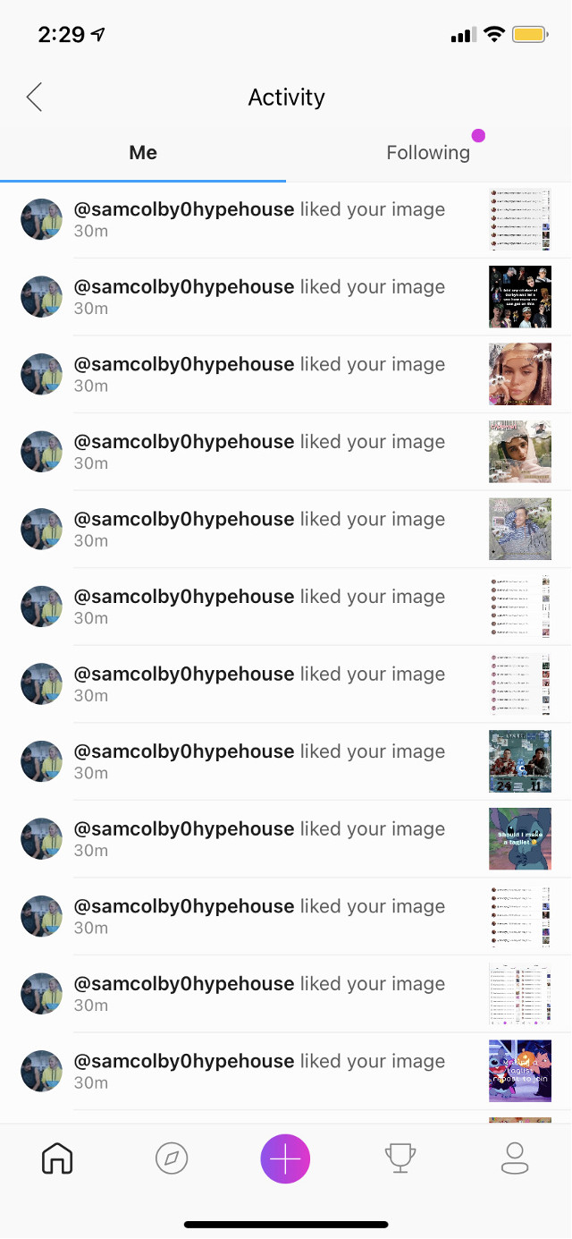 """Thamk you for the spam like @samcolby0hypehouse #thank you                                                                                  Repost to join taglist                                                                 Comment """"🍭"""" to be added to taglist.                                  Go follow                                                                                     @jessa_lou7                                                                             @_fangirl_hp_marvel_                                                              @clix_z5"""