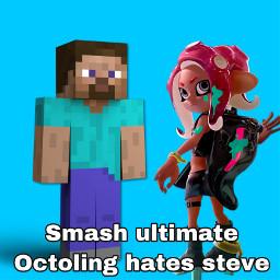 octoling hates steve freetoedit