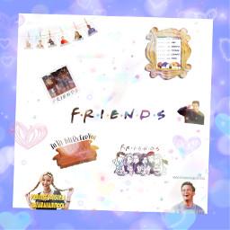 friends rossgeller phoebebuffay chandlerbing monicageller rachelgreen freetoedit