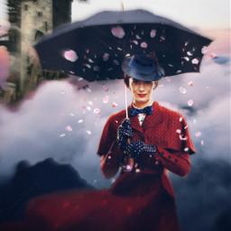freetoedit marypoppins umbrella peterpan fantasy ircundertheumbrella