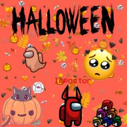 halloween amongus happyhalloween among freetoedit