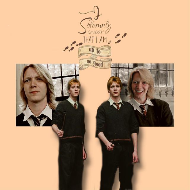 #fredweasley #georgeweasley #harrypotter #hogwarts #gryffindor #gryffindorpride #weasleys #weasleywizardwheezes #weasleytwins