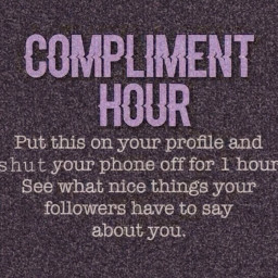 compliments hour freetoedit