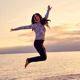 outdoorphotography oceanbeach happiness energy enjoying goldenhour