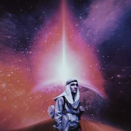 pilgrimage pilgrim desert universe freetoedit unsplash