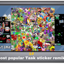 most popular task stickers remix and i give prize