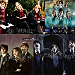 harrypotter hermionegranger ronweasley pottah potter