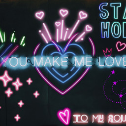 neonlove stayhome staystrong freetoedit ecneonsign neonsign