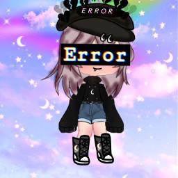 gacha life sad error bat girl cry freetoedit