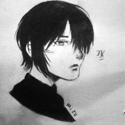 shingekinokyojin mikasa mikasaackerman anime drawing mizuart