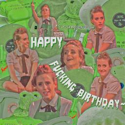 happybirthday happy birthday green edit simple minimal complex greenedit starkid tgwdlm theguywhodidntlikemusicals emma lauren lopez laurenlopez