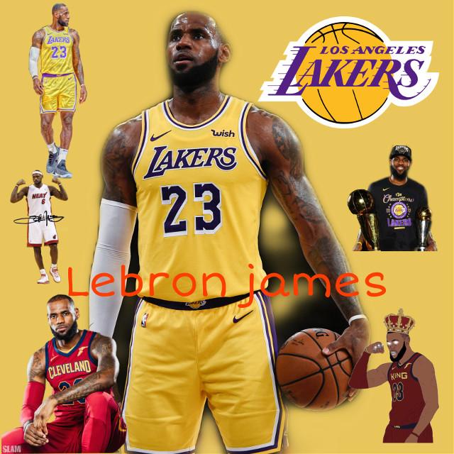 Lebron James 💜💛 #kingjames #kingofcleveland #art #losangeleslakers #nbachampionship2020 #lakersnation #lebronjames23 🏀