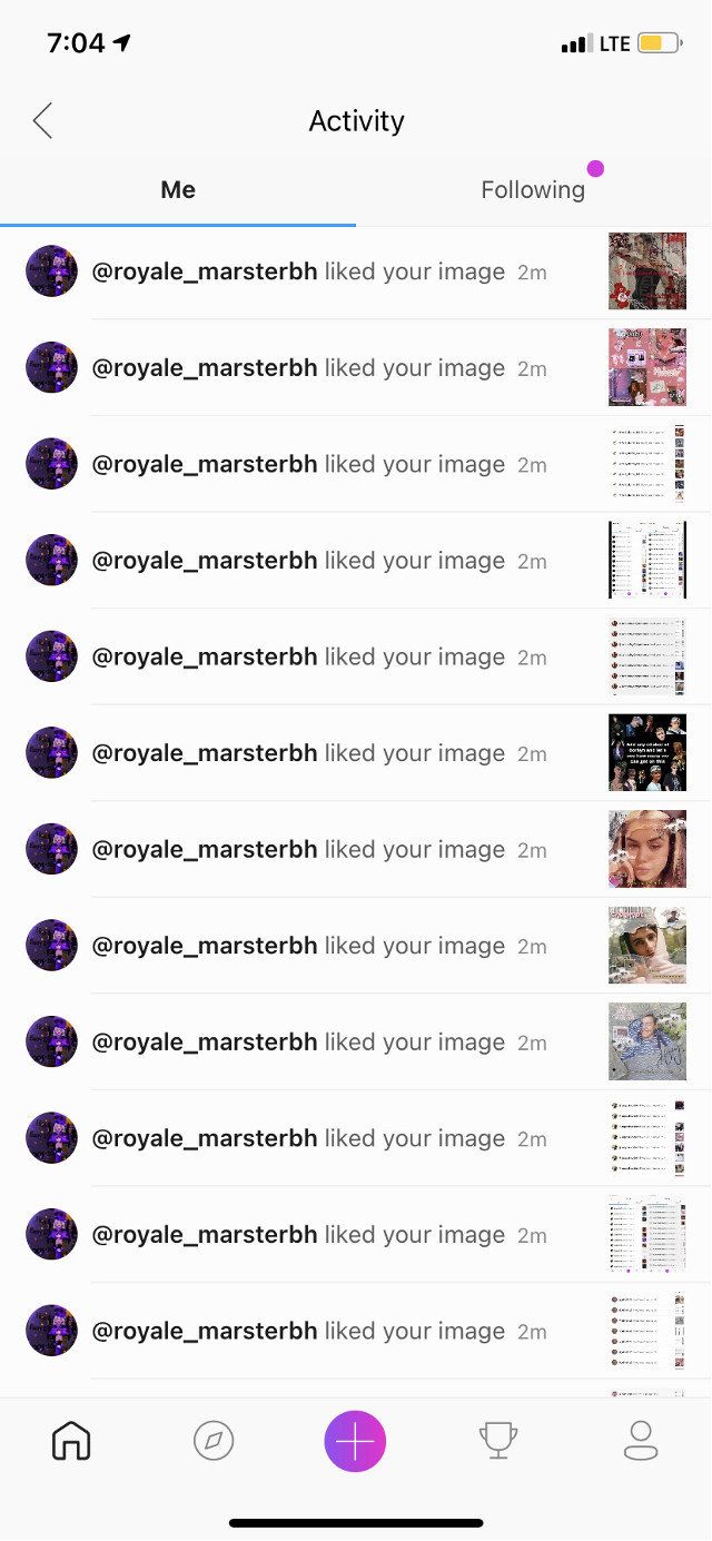 """Thank you so much for the spam likes @royale_marsterbh  #thankyou                                                                                           Comment """"🍭"""" to be added to taglist                                                                                         Comment """"🍬"""" to be removed                                                                                            Comment """"🍩"""" if username Changed                                                                                Go follow                                                                                                                                                                        @jessa_lou7                                                                             @_fangirl_hp_marvel_                                                              @clix_z5                                                                                   @janamichailov  @-larryedits- @precious_besson @blackpinkelytinkely"""